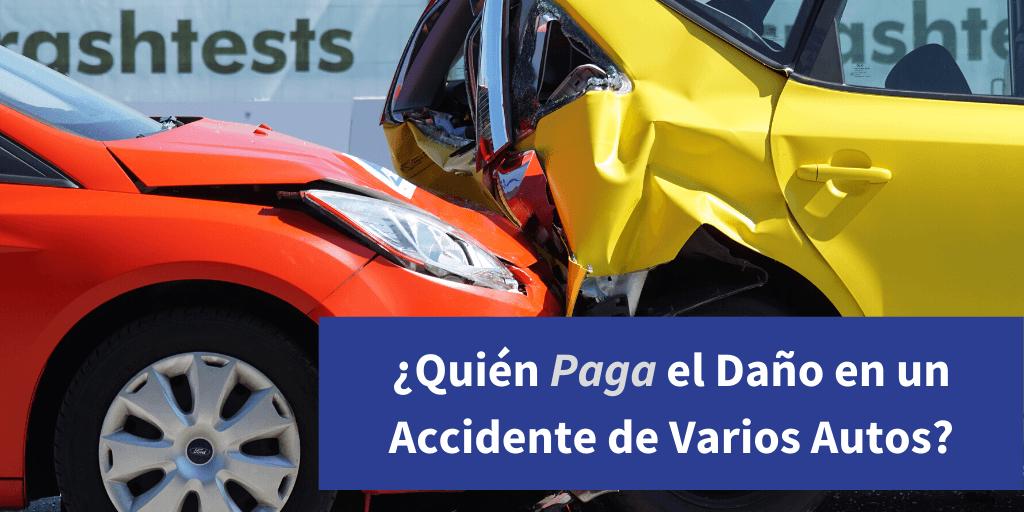 accidente de varios autos
